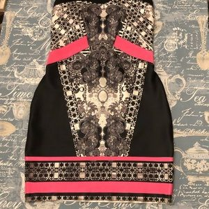 Medium blk&pink wow couture with padded